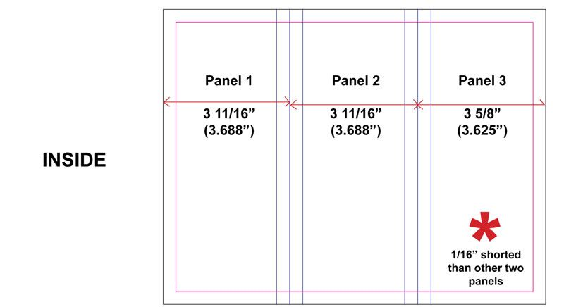 trifold brochure dimensions brochures pinterest brochures and