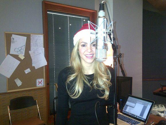 Shakira graba su nuevo disco con la ayuda del pequeño Milan