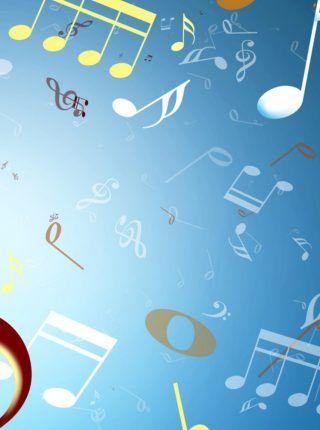 Pared Llena De Notas Musicales Hd Fondo De Pantalla Fondos Para Iphone Music Backgrounds Music Notes Background Music Notes