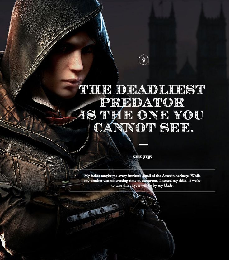 Acs Evie Frye Assassins Creed Quotes Assassins Creed