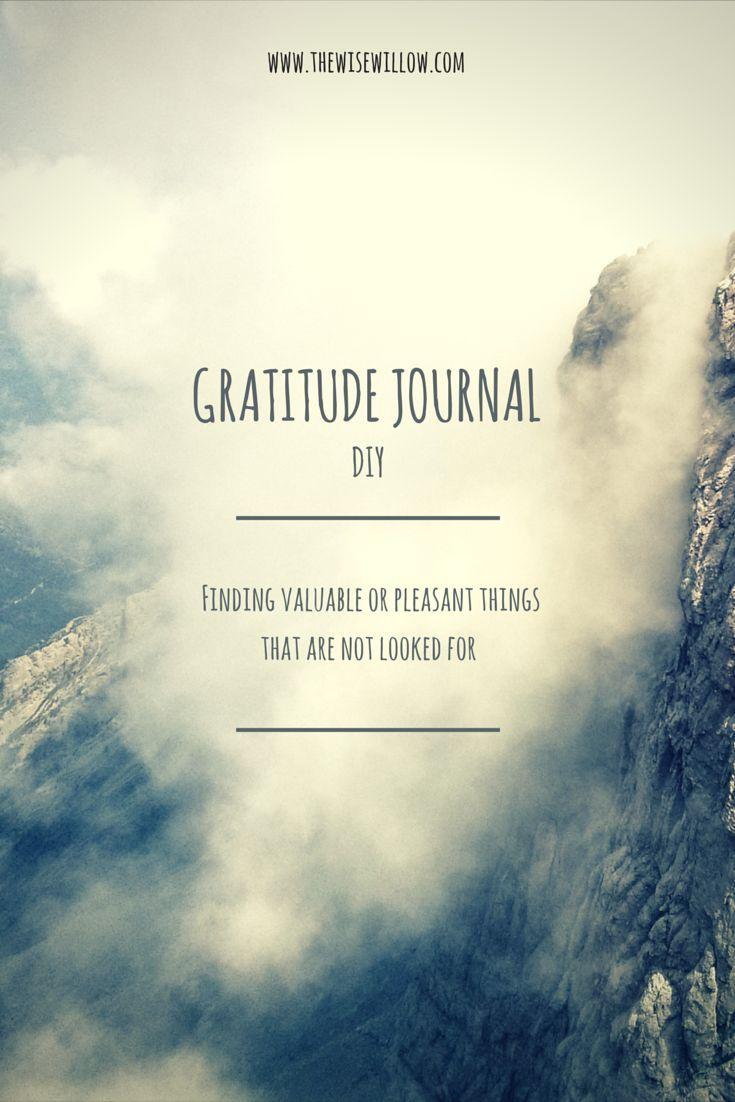 DIY Gratitude Journal -