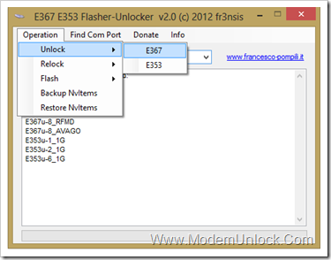 e367 e353 flasher-unlocker