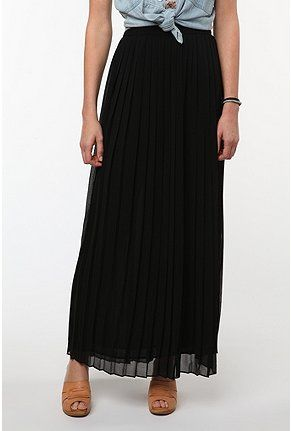 58342c044 Sparkle & Fade Maxi Pleated Chiffon Skirt. #idea for my pleated maxi skirt  outfit