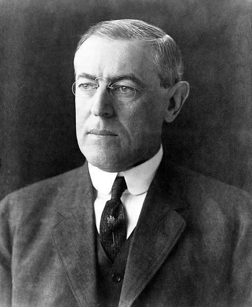 Woodrow Wilson (28/12/1856 - 3/2/1924) was the 28th President of the United States (4/3/1913 - 4/3/1921)