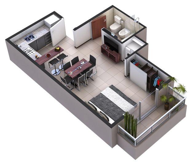 Plano De Casa Home Apartement Konsep Casas Planos De Casas