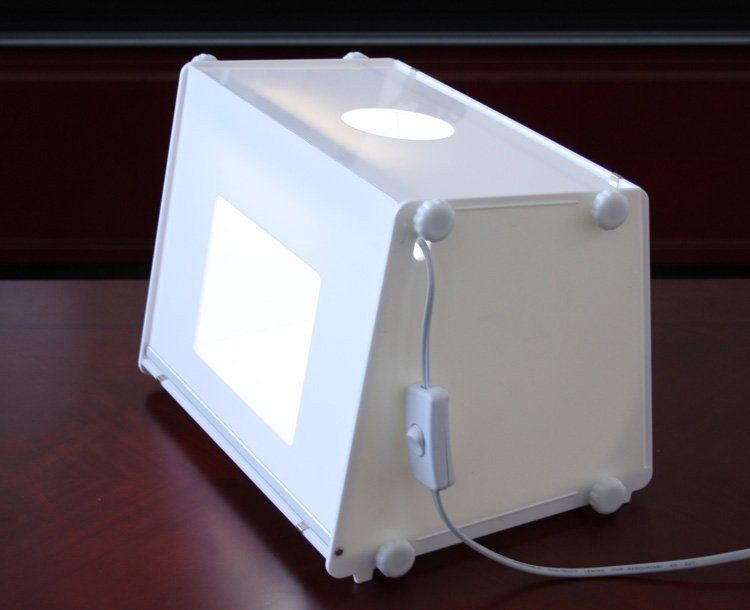 Card Making Equipment Ideas Part - 32: Portable Mini Photo Studio Light Box