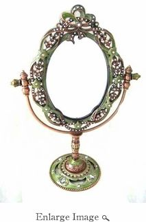 Well Jeweled Mirror