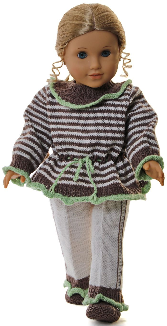 Doll clothes patterns for 18 inch dolls | Maalfrid-Gausel Knitting ...