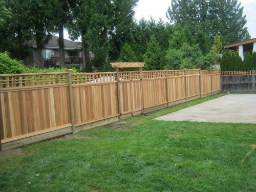 How To Add Lattice To Top Of Fence Google Search Wood Fence Wooden Fence Fence
