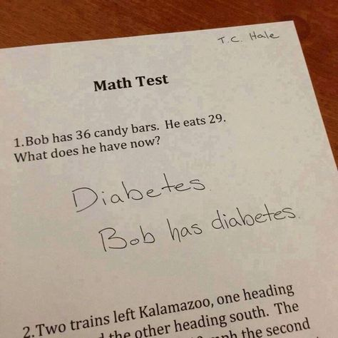 Latest Funny Test Answers  30+ Ideas Funny Test Answers Kids Student 3