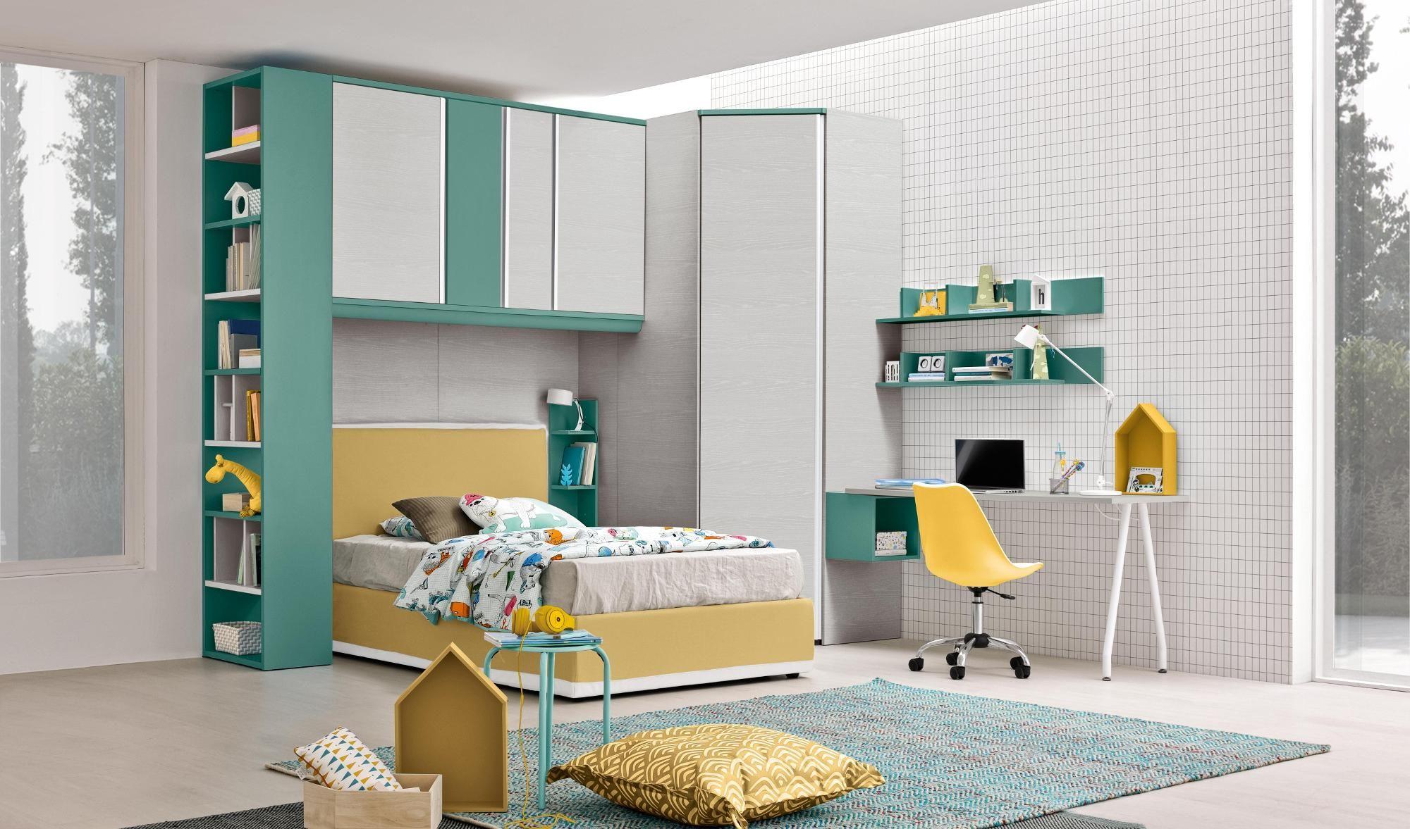 Arredo camere da letto per bambini e camerette per ragazzi ...