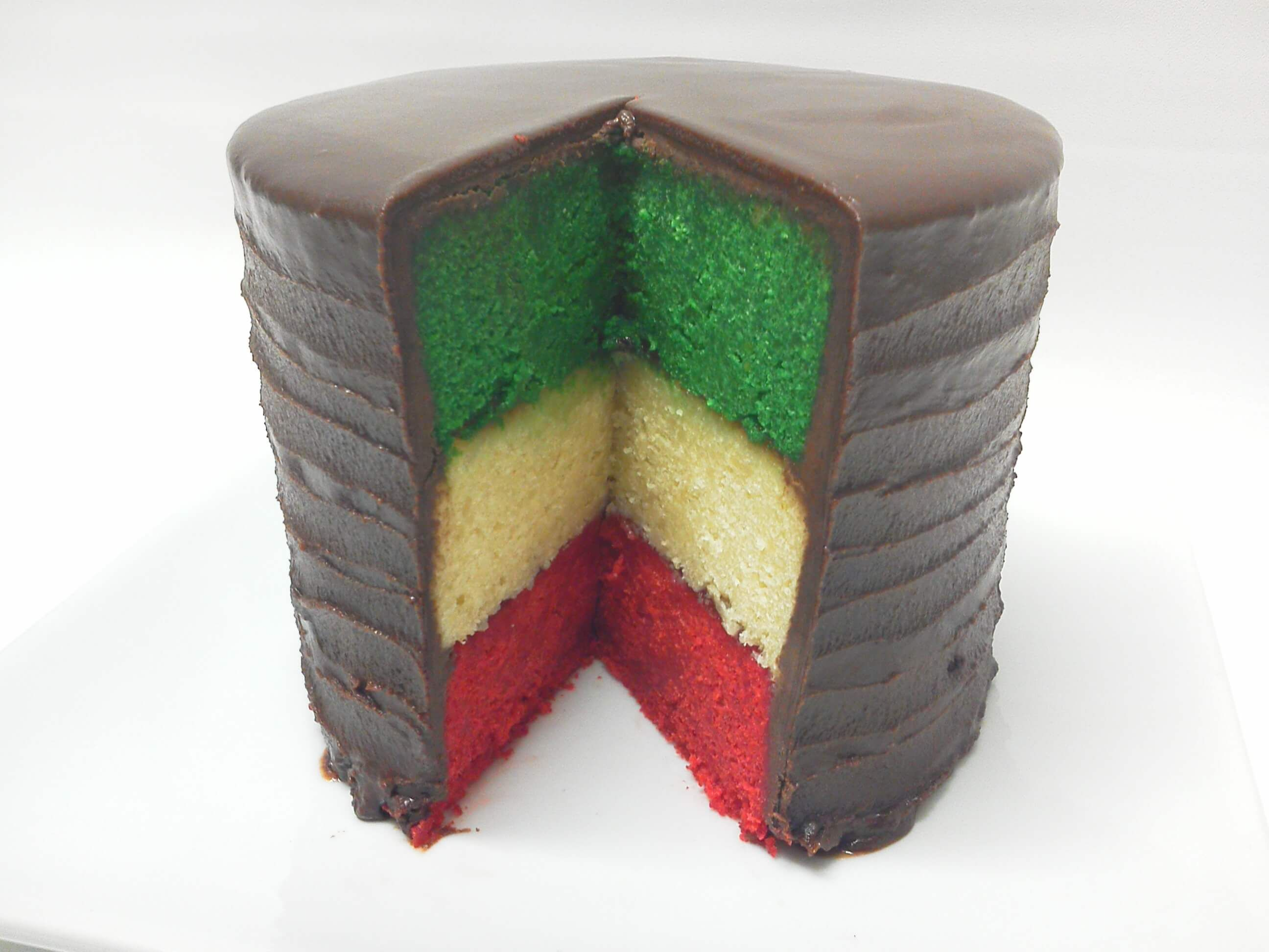 ITALIAN RAINBOW COOKIE CAKE DELIVERED