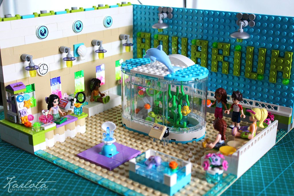 moc aquarium friends lego town eurobricks forums jalissa 39 s board pinterest lego. Black Bedroom Furniture Sets. Home Design Ideas