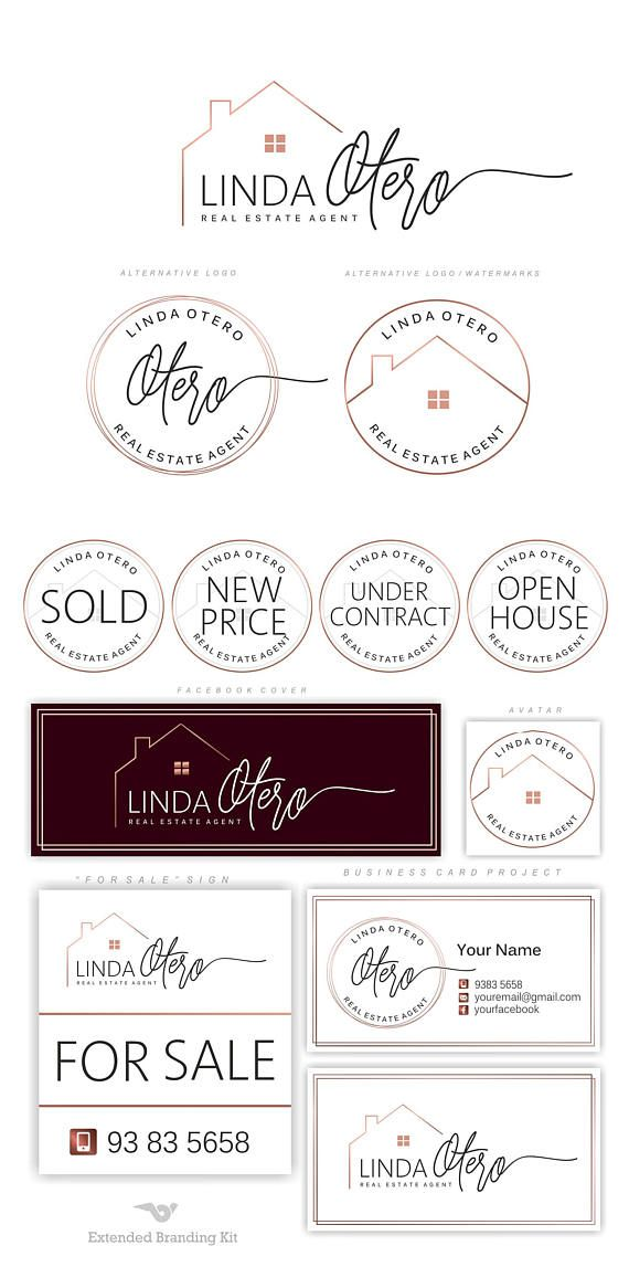 real estate logo design  house logo  realtor logo  luxury