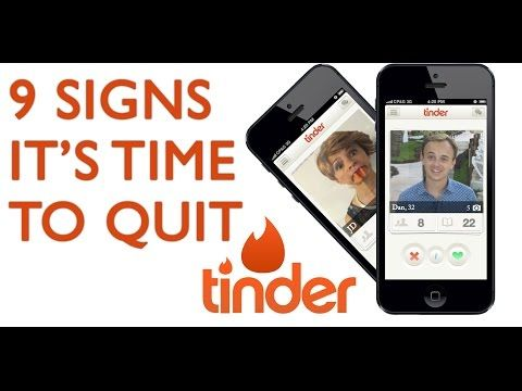 Are you a Tinder addict? We've rounded up nine signs you should probably  quit using the online dating app immediately -- with the help of Amy  Sedaris, ...