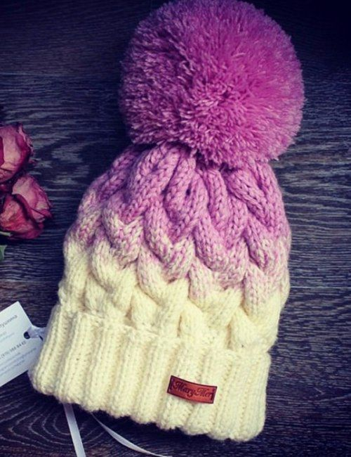 86a5bd0e Women's Winter Purple Pom Pom Wool Hat to keep you warm and looking cute  this winter! | Women's winter warm hats | Stylish Bobble Hats.