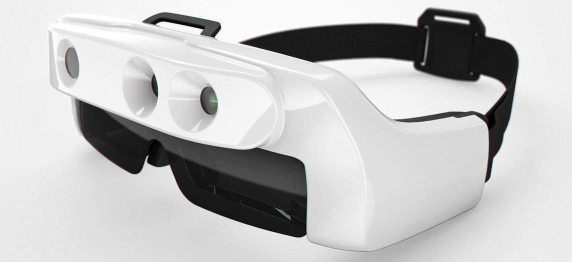 Smart Glasses Improving The Lives Of The Visually Impaired Smart Glasses Augmented Reality Assistive Technology Diy
