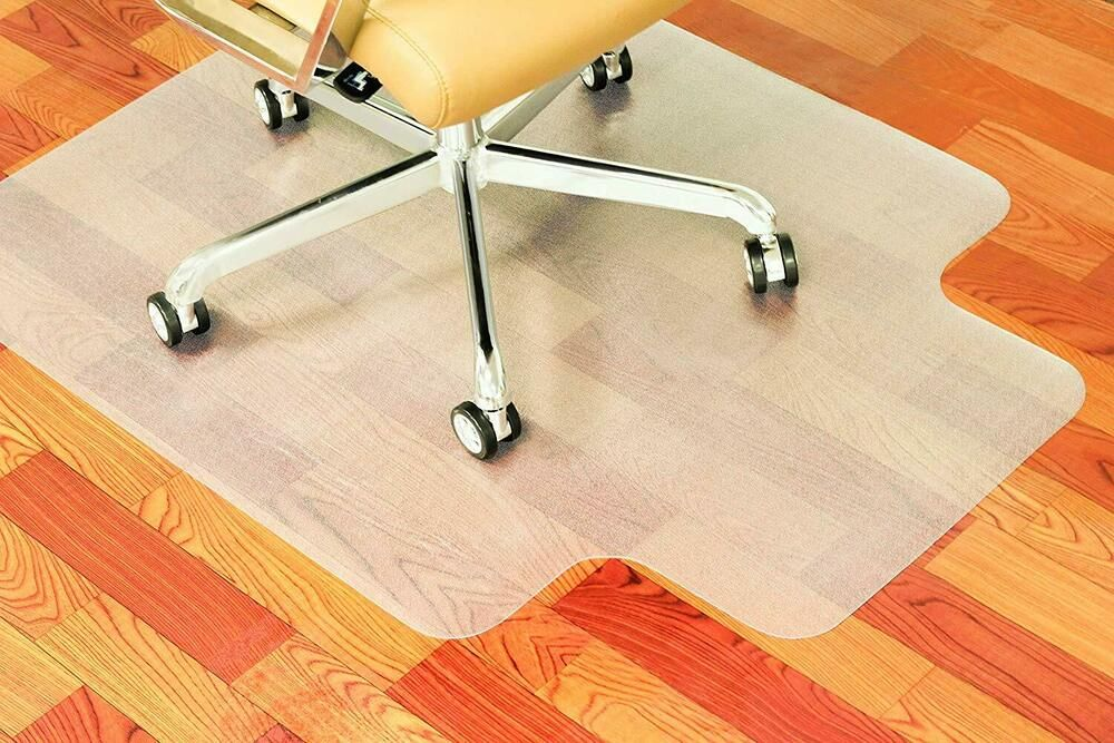 Chair Mat For Hard Floor, 36 X 48 Inch With Lip, Thick