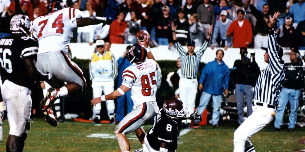Where Are They Now? Cory Peterson in 2020 Ole miss