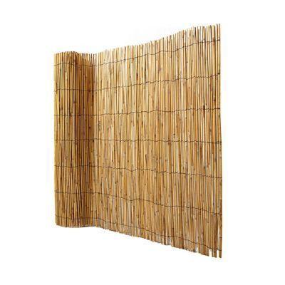 Canisse Bambou Fendu Blooma 3 X H 1 5 M Canisse Bambou Canisse Et Bambou