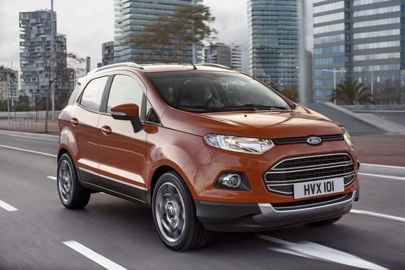 Are These Ford Motor Company S Four All New Suvs Ford Ecosport
