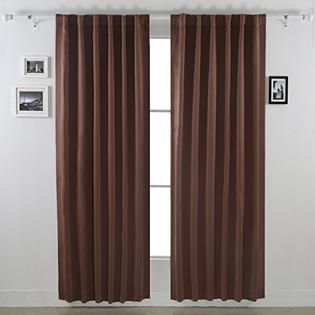 Sears Deconovo Deconovo Back Tab Solid Thermal Insulated Blackout Curtain /  Drapes For French Doors,