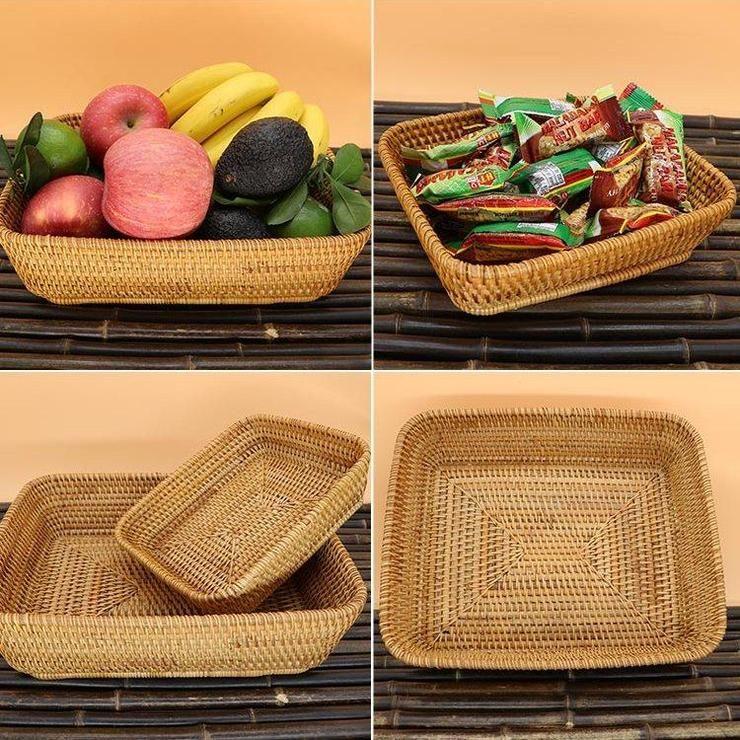 Fruit Basket Rustic Basket Vietnam Handmade Storage Basket Woven Basket Rustic Baskets Storage Baskets Basket