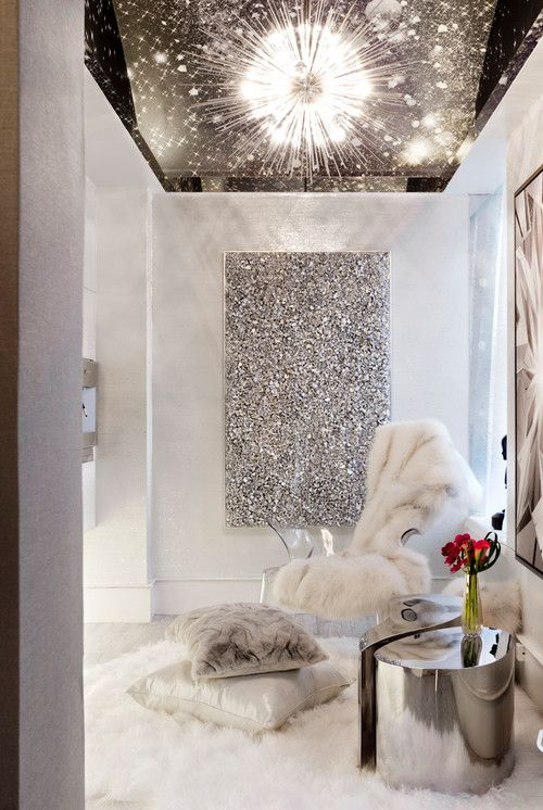 Sparkling Glitter Wall Paint For Home Interior Trends4us