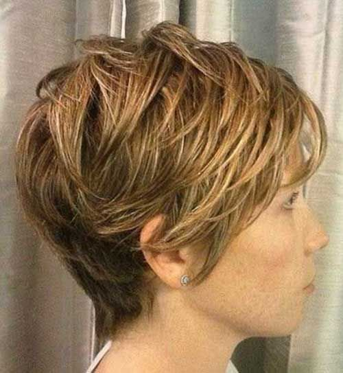 Layered And Textured Short Hairstyles Possess A Capacity To Cause You To Look Mo Short Textured Haircuts Haircut For Thick Hair Short Hairstyles For Thick Hair