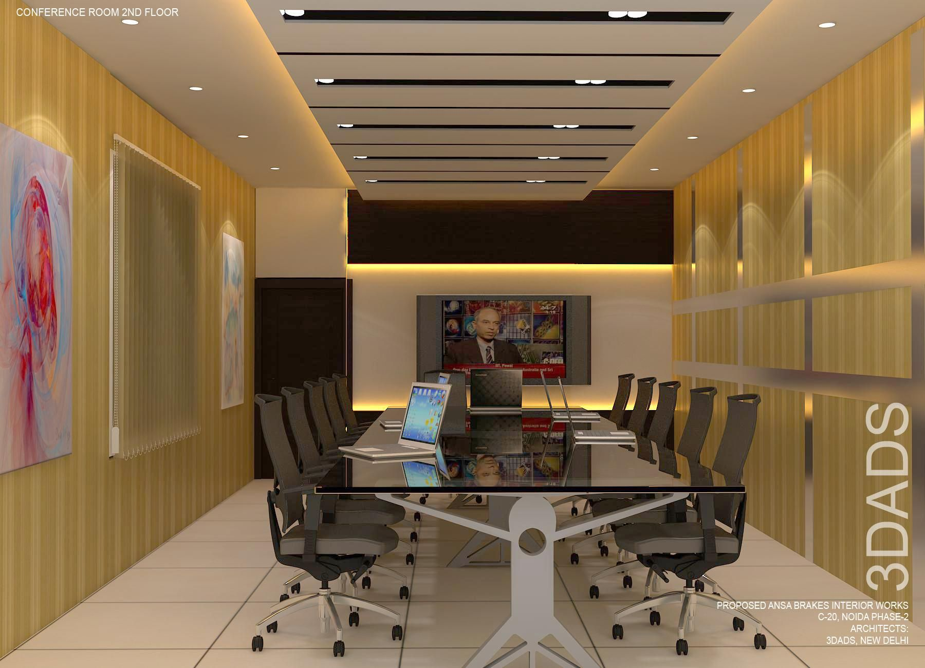 Modern Office Board Room Interior Design By 3Da Best Office