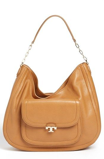 Tory Burch Sammy Hobo Large Available At Nordstrom In Black