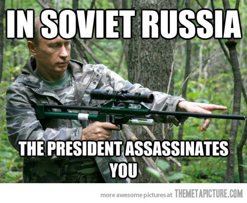 Only In Soviet Russia Funny Memes In Soviet Russia Jokes Funny Pictures
