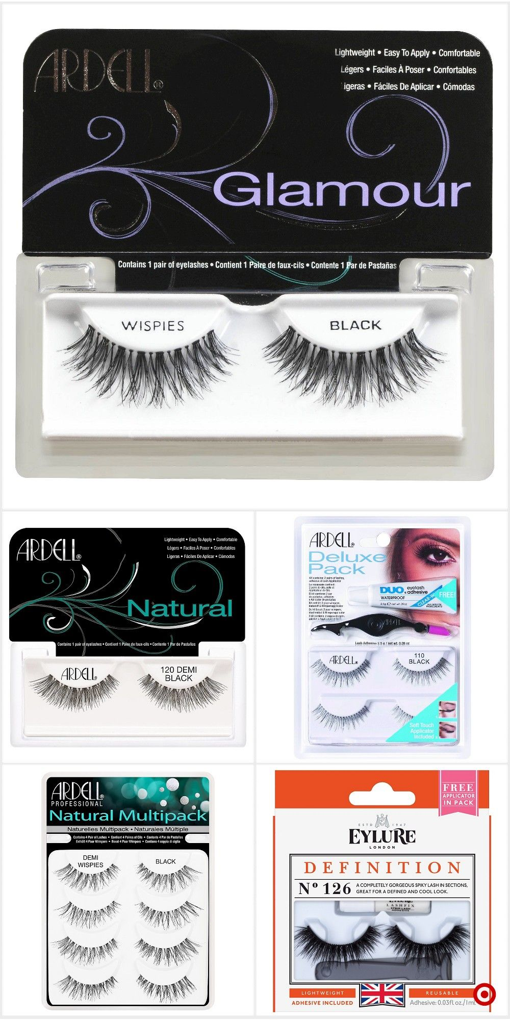 cf486199f10 Shop Target for false eyelashes you will love at great low prices. Free  shipping on orders of $35+ or free same-day pick-up in store.