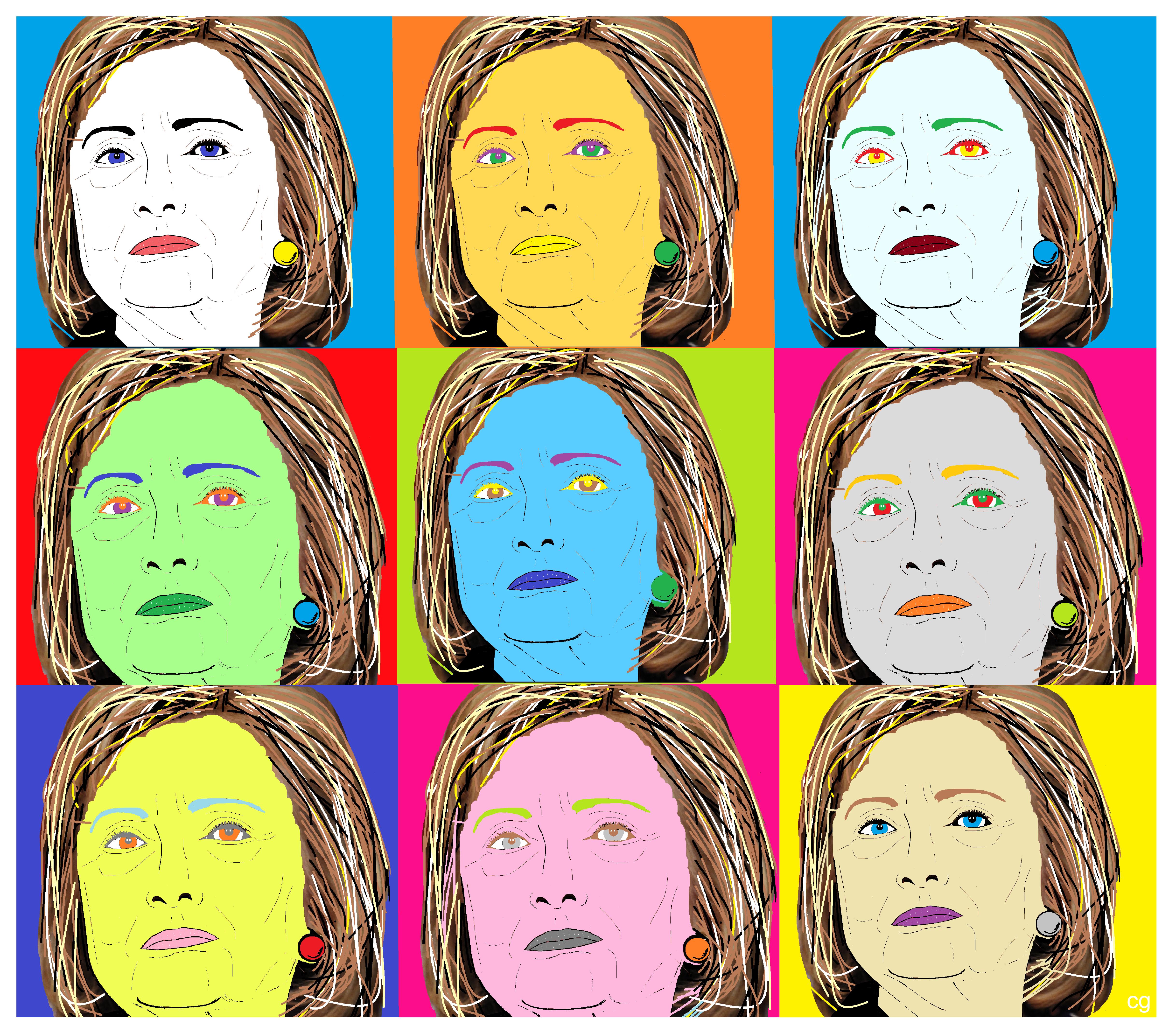Hillary by cg