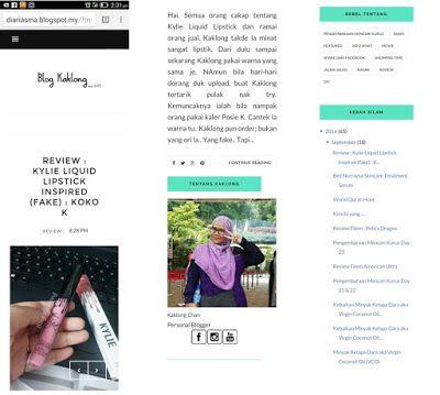 Laskar pelangi blog ( mart blog ): tutorial tukar template blog.