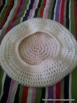 Slouchy Beret Hat Free Crochet pattern by debra | crafts | Pinterest