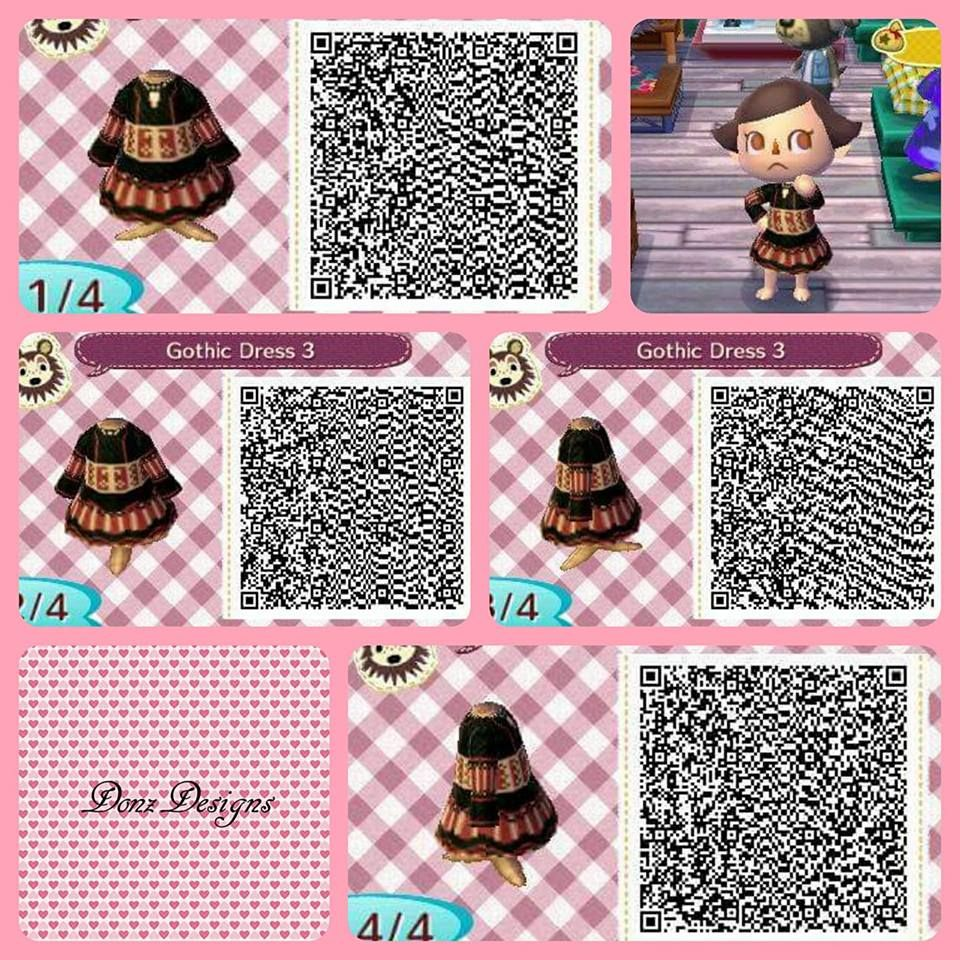 Gothic Dress 3 By DonzDesigns   Animal Crossing   Animal ...  Gothic Dress 3 ...