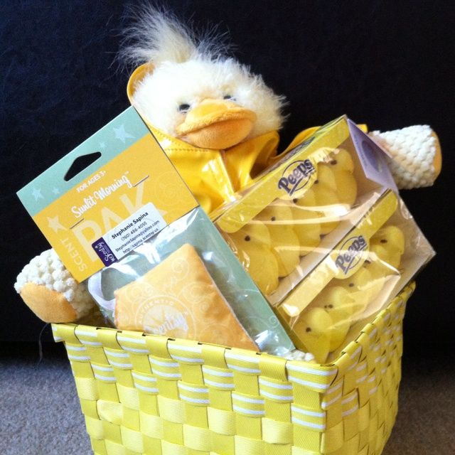 Scentsy buddies these make great gifts in easter baskets scentsy buddy easter basket negle Gallery