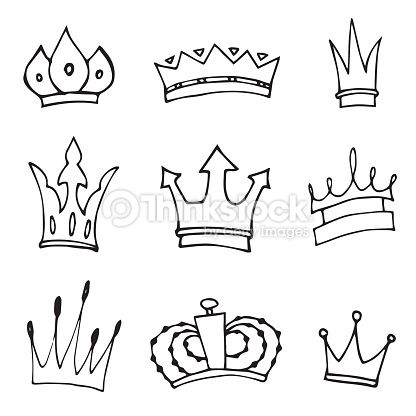 King And Queen Crowns Drawings Google Search Sketches Crown