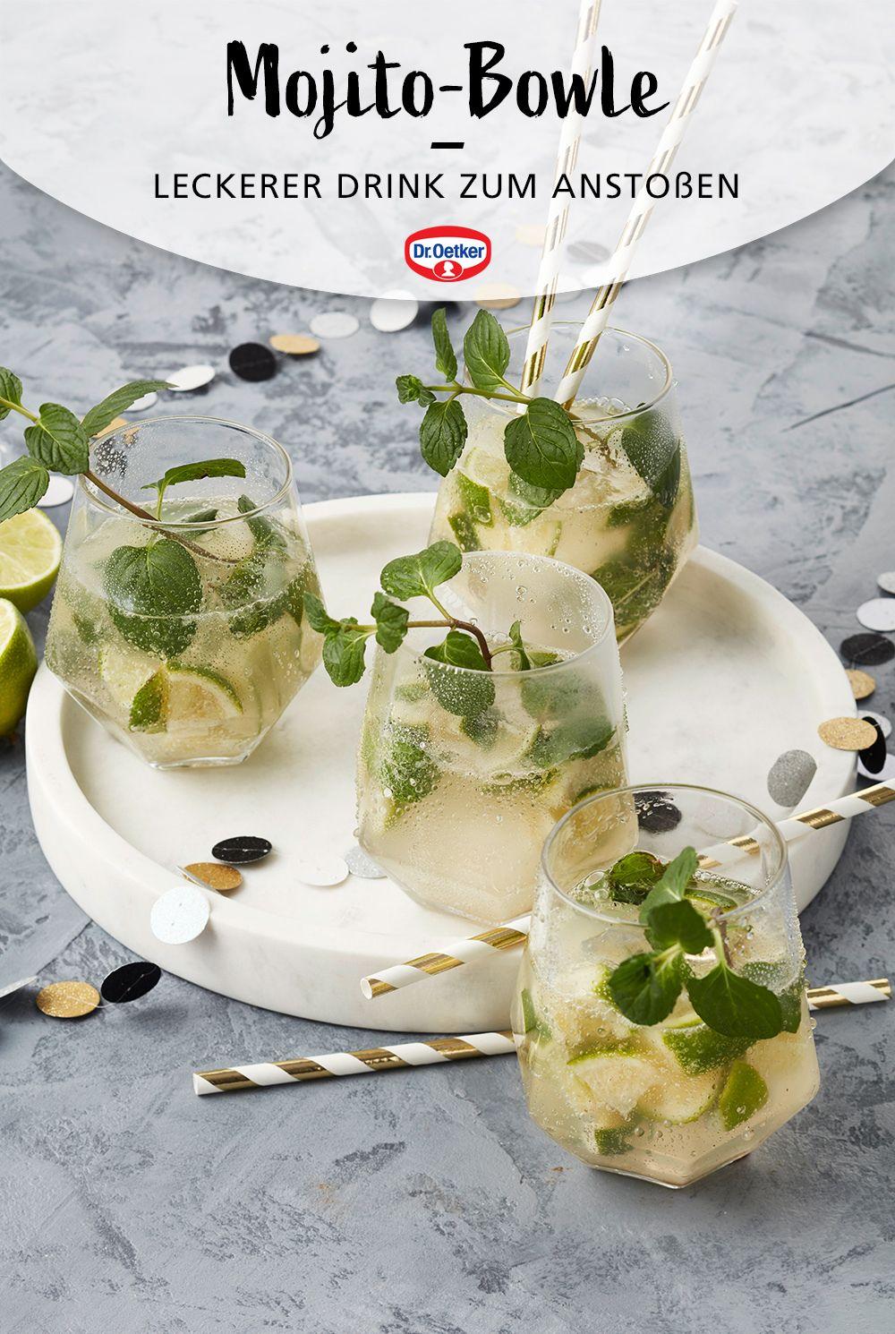 Mojitobowle Rezept Bowle Rezept Cocktails Mit Minze Bowle Rezepte Mit Alkohol
