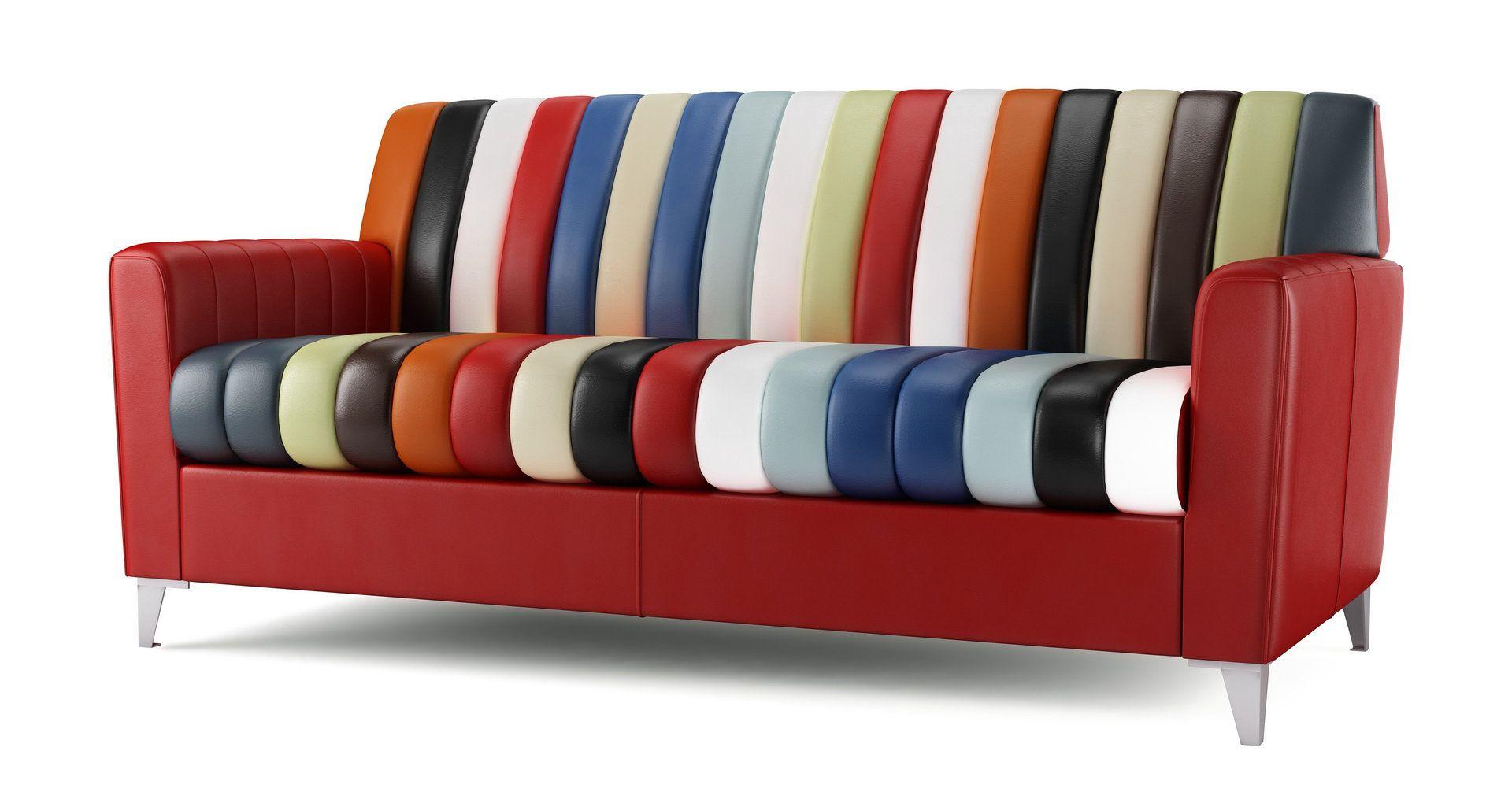 Atomic Leather Sofa DFS mydfs