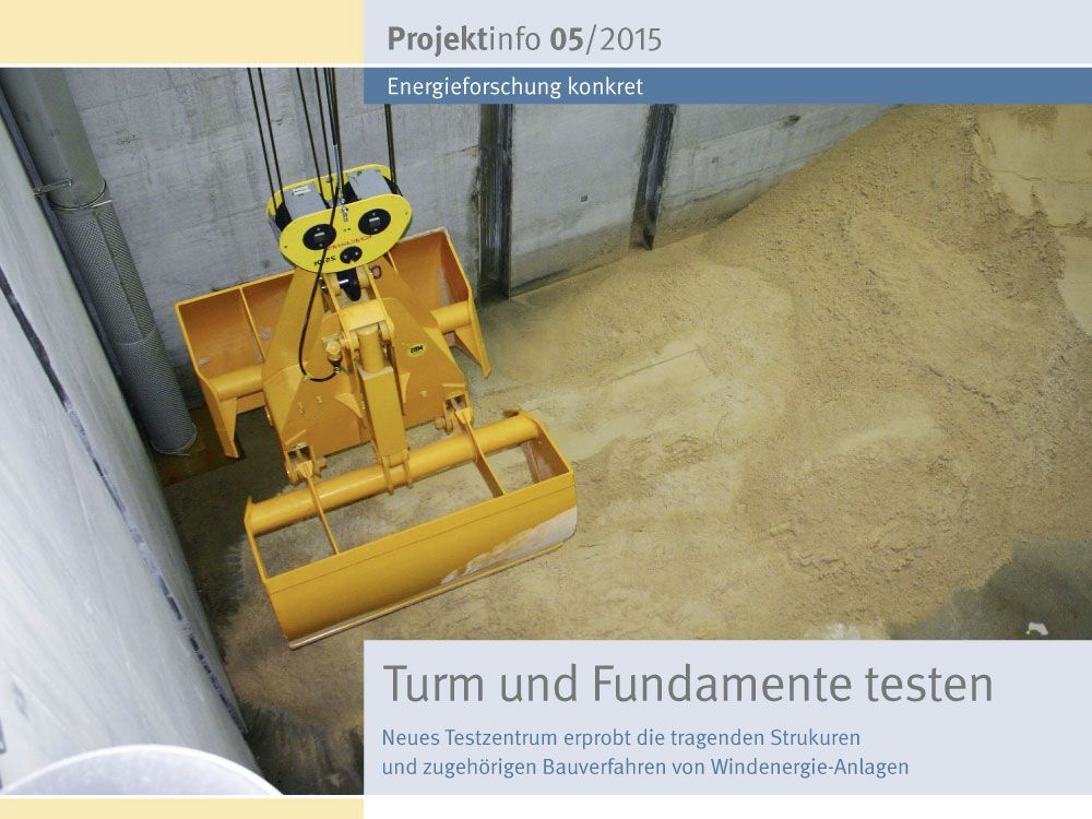 Pressemitteilung Windenergie Anlagen Rutteln Und Schutteln Energie Fundament Erneuerbare Energien