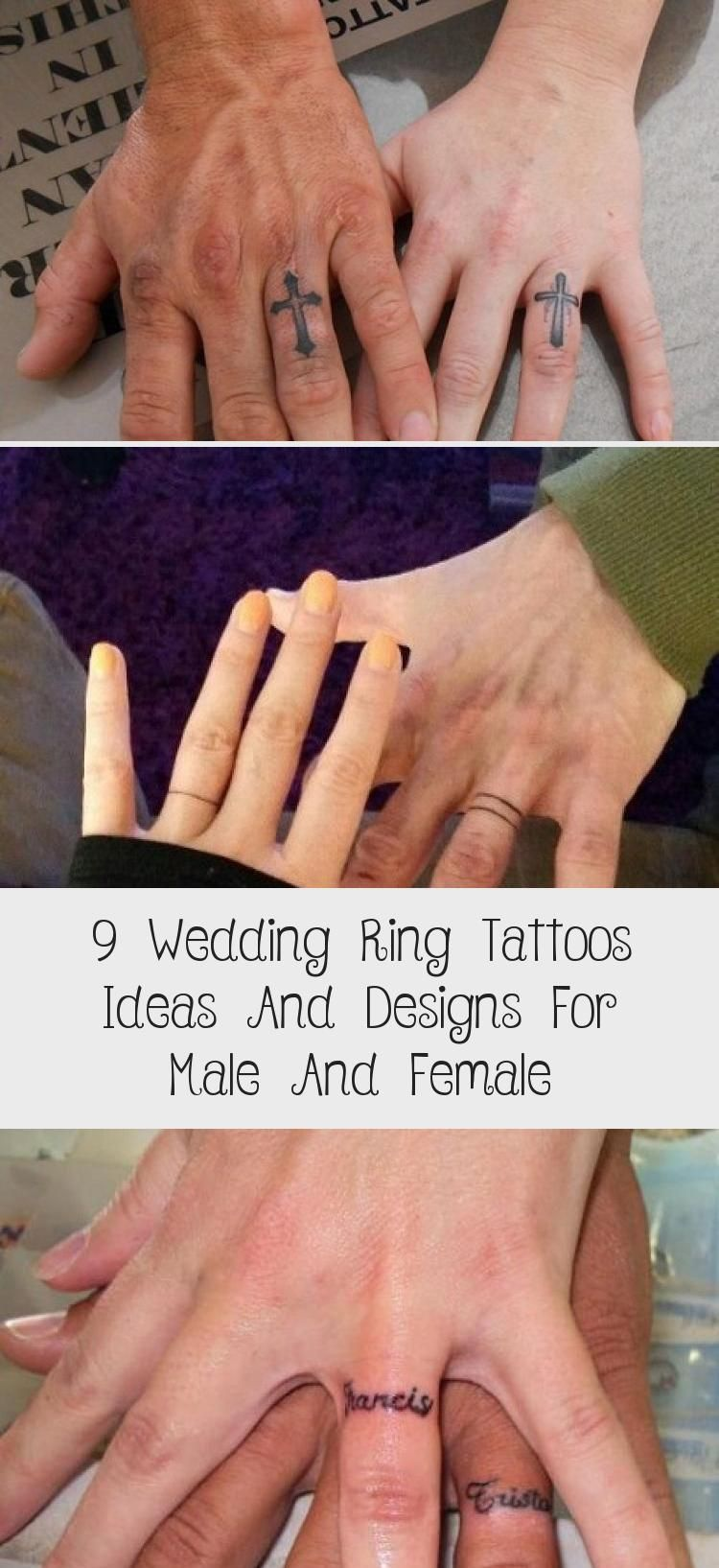 9 Wedding Ring Tattoos Ideas And Designs For Male And