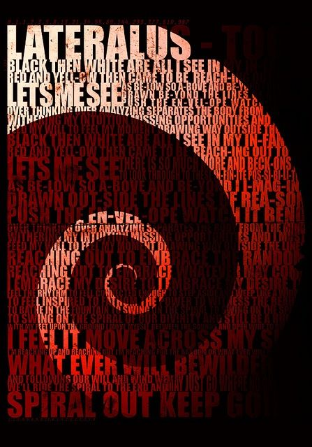 Lyrics Of Lateralus Track Of Tool Album Lateralus Tool Band Artwork Tool Lyrics Tool Music To help you embark on your quest for maynard james keenan lyrical enlightenment, here are the complete lyrics to the sixth track off fear inoculum, descending. pinterest