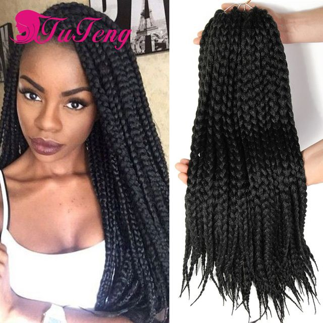 Box braids hair extensions 12 rootspack box braids crochet braids box braids hair extensions 12 rootspack box braids crochet braids hair synthetic hair weaving pmusecretfo Choice Image