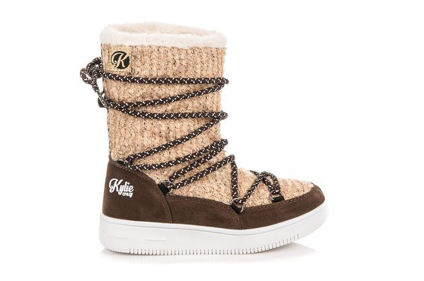 Kozaczki Dla Dzieci Kylie Brazowe Buty Zimowe Kylie Boots Winter Boot Shoes