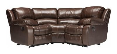 Bryant Ii 3 Pc Leather Reclining Sectional Sofa