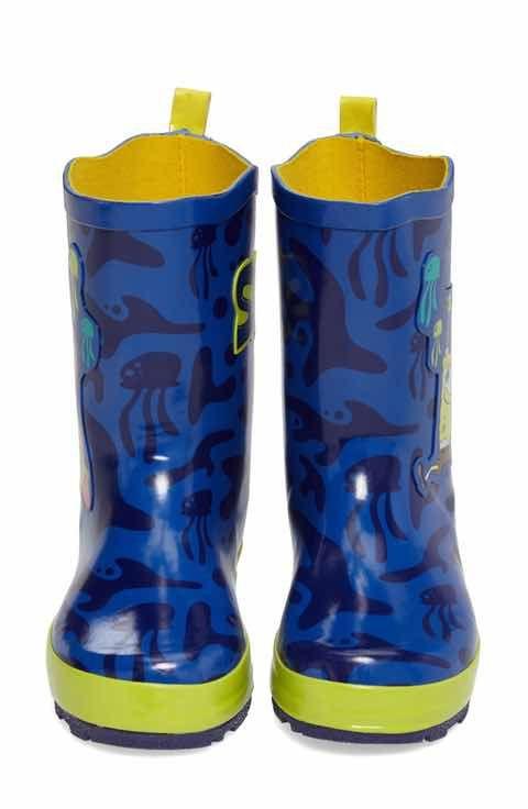 kidorable spongebob squarepants rain boot walker toddler little