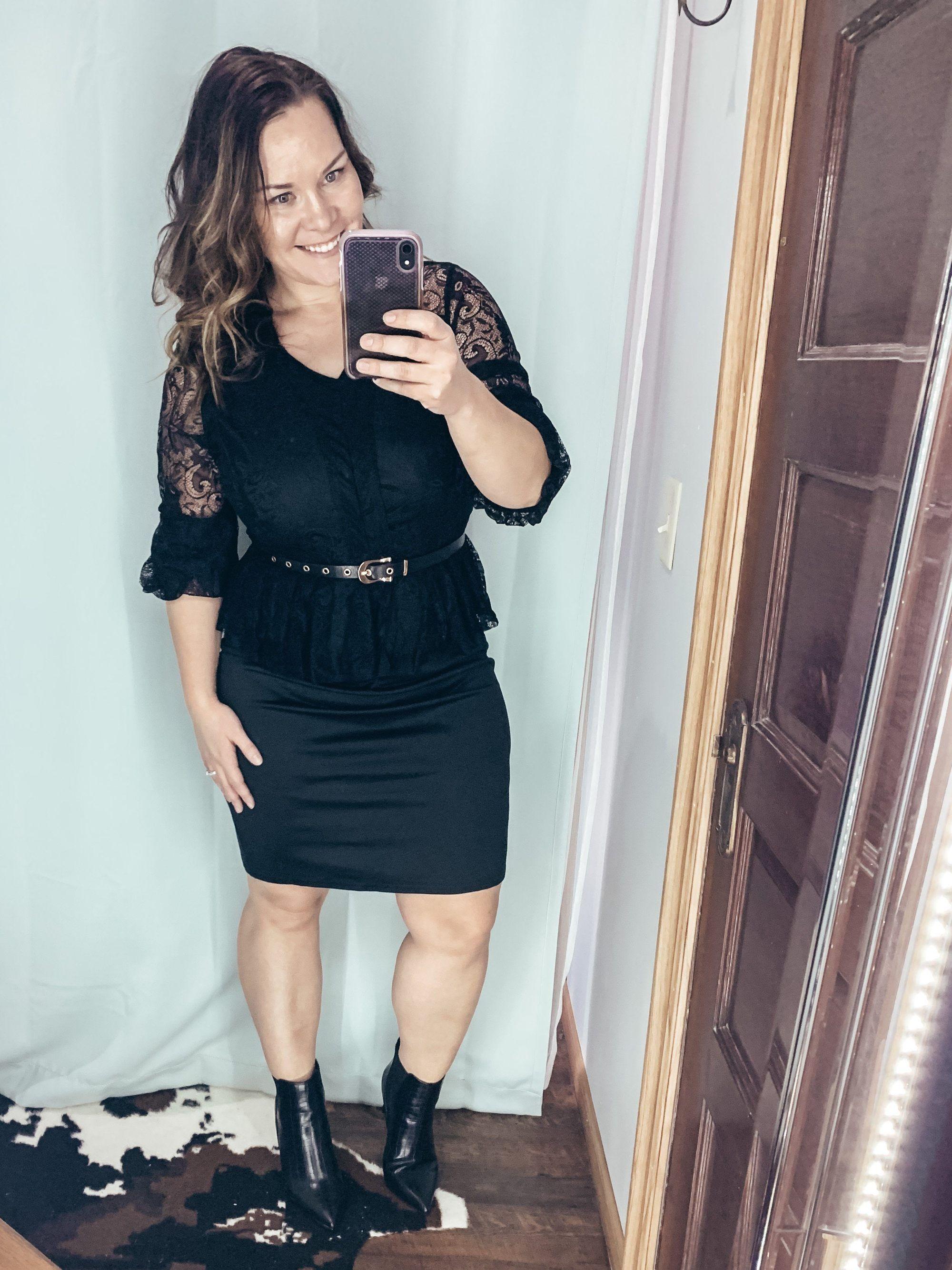 Plus Size Little Black Dress Outfit Little Black Dress Outfit Black Dress Outfits Dresses To Wear To A Wedding [ 2667 x 2000 Pixel ]