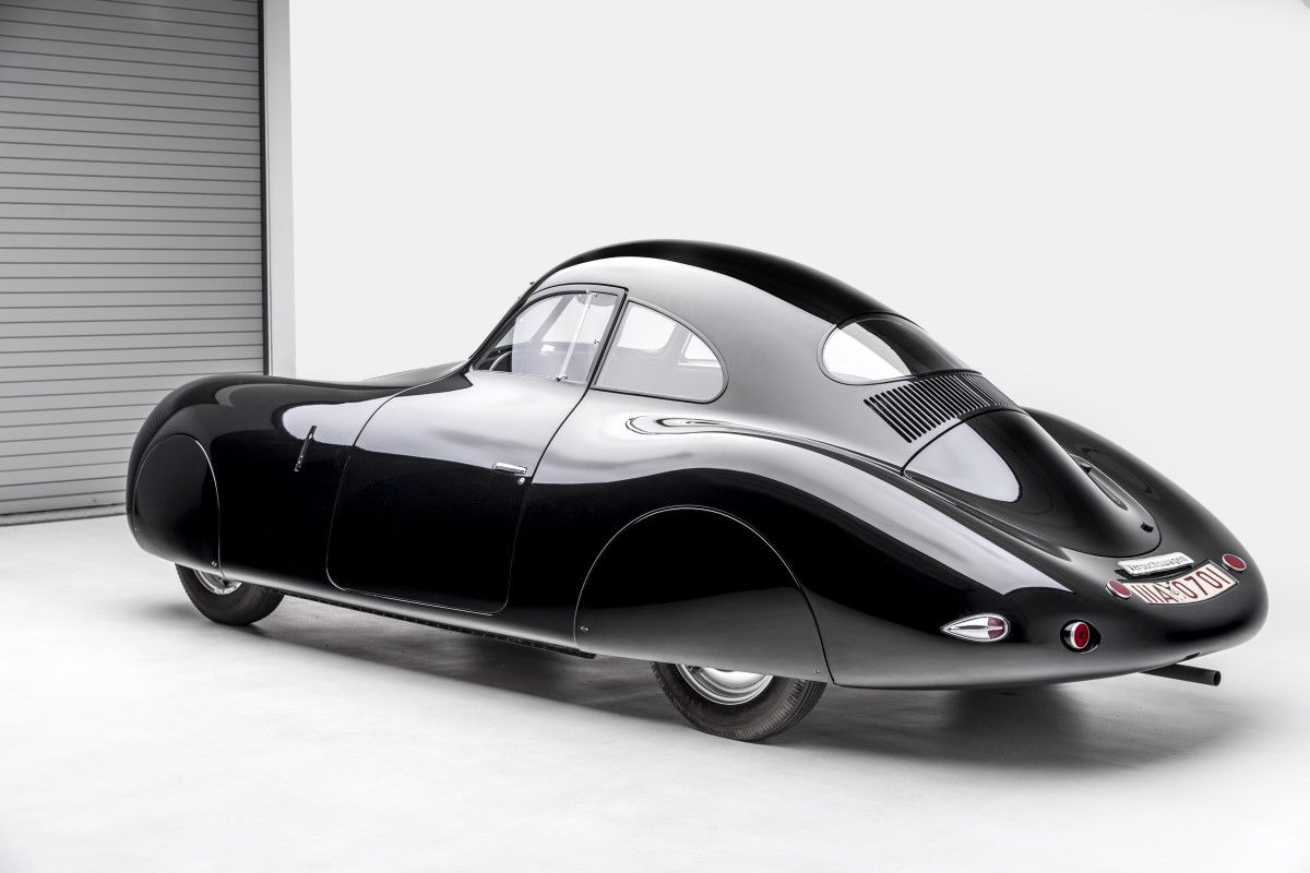Feast Your Eyes on This 1939 Porsche Type 64 60K10